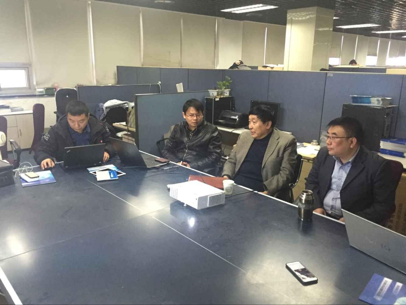 华腾与北京建金工程管理公司、北京比目鱼公司(BIM)战略合作